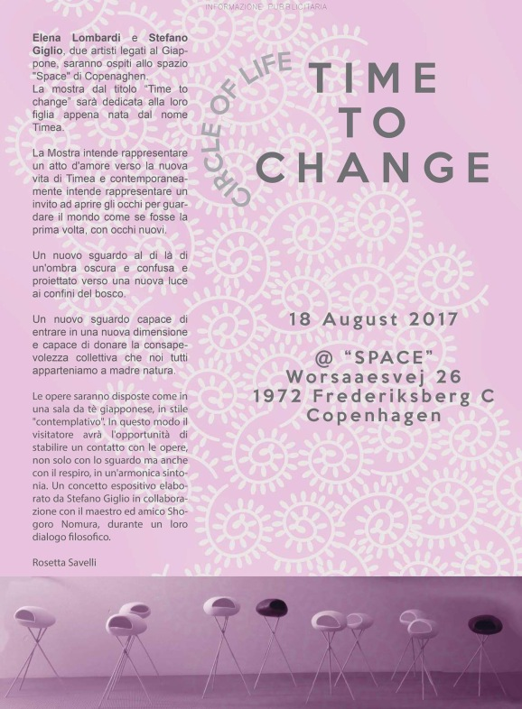 time to change arte magazine